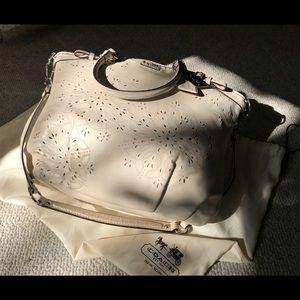 Coach Laser Cut handbag with original storage bag